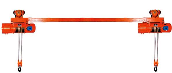 大力双吊点钢丝绳电动葫芦
