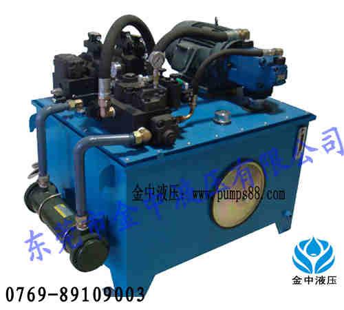 金中kqk剪切机液压系统,液压泵站设计 价格:9999元/台图片
