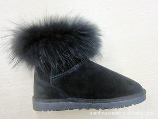 ZD-5009兔子毛雪地靴 价格:140元