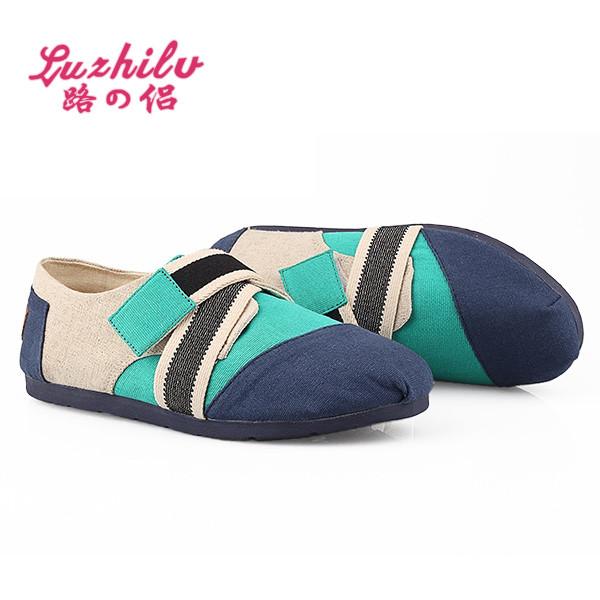 路之侣2013 新款休闲舒适软底女鞋 价格:37元