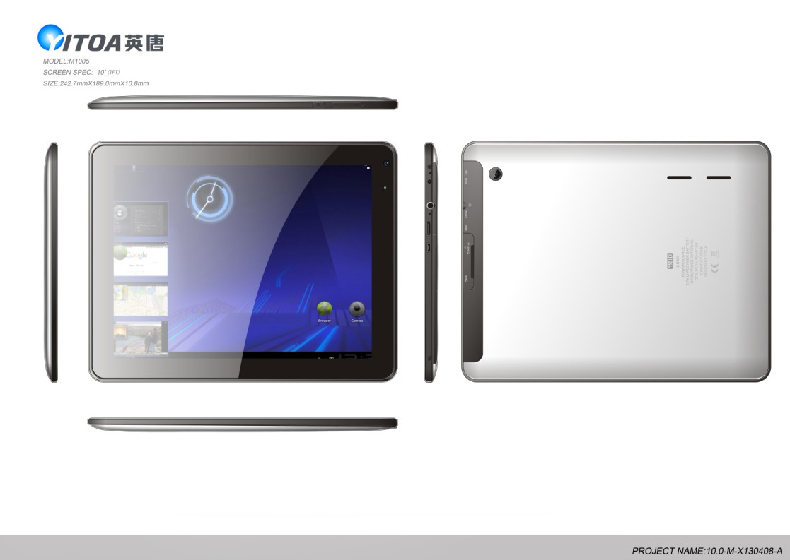 tablet pc,small pc, pc M1005
