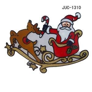 juc-1310圣诞节用品,圣诞节窗贴,图案优美 价格:1.5元