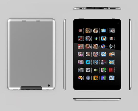 7.85 inch Rockchip 3188 quad core tablet
