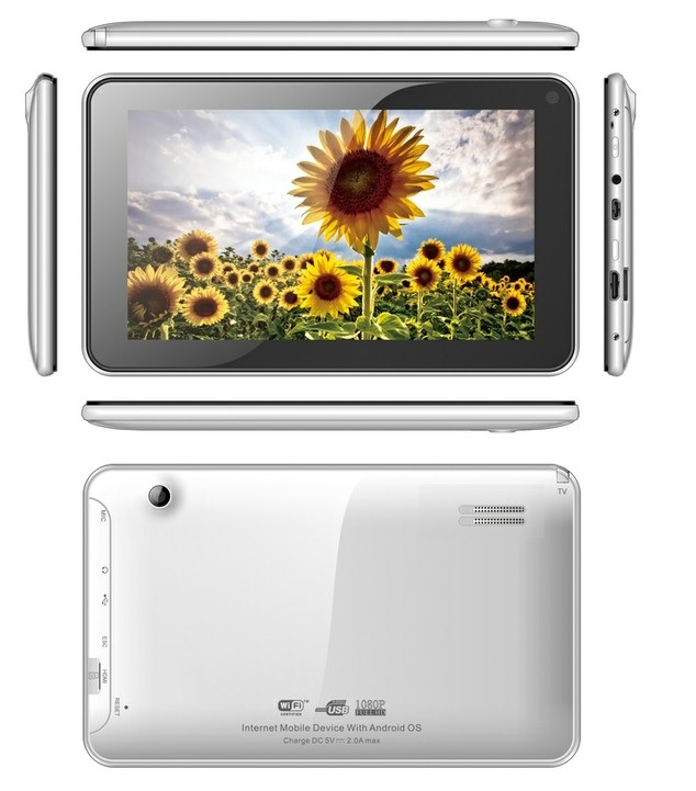 All winner A20 TV 7inch tablet MID