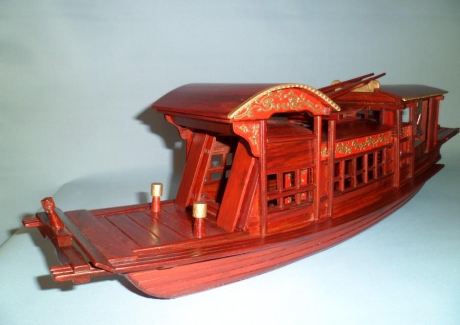 扑克手工制作船