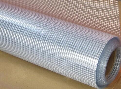XR203009pvc透明夹网布文件袋 价格:5元/平方米