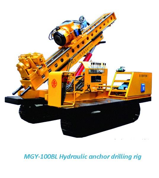 MGY-100BL Hydraulic anchor drilling rig