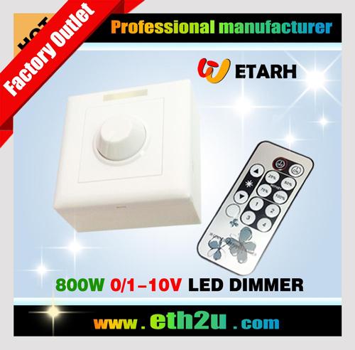 IR 0-10V LED Dimmer 800W ETH-8008U
