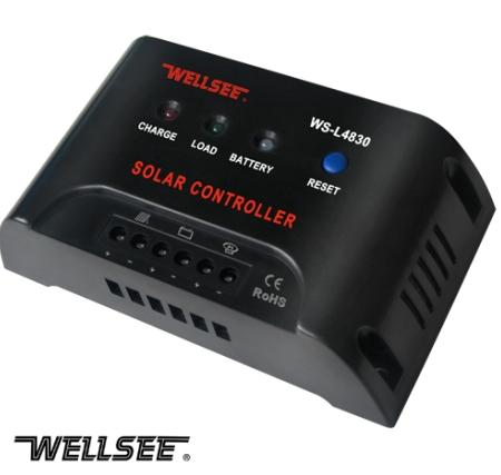 WELLSEE 30A 48V solar street light controller