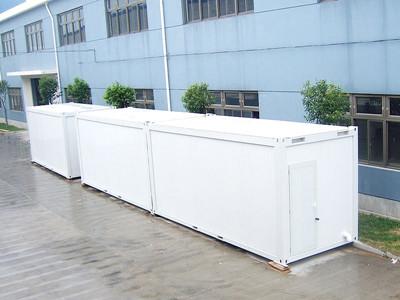 防护措施,力求最大化满足客户的需求,生产的集装箱活动房产品远销非洲