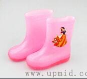华中上水晶雨鞋
