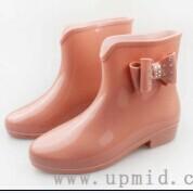 华中上女式雨鞋