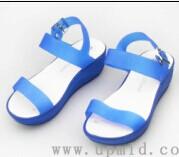华中上水晶凉鞋