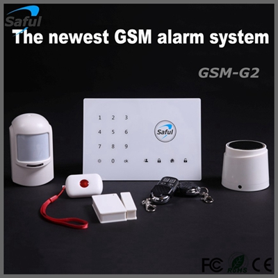 wireless home burglar alarm security system