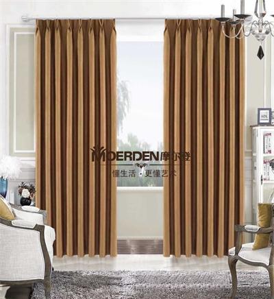 摩尔登卧室窗帘 别墅 客厅窗帘布艺品牌