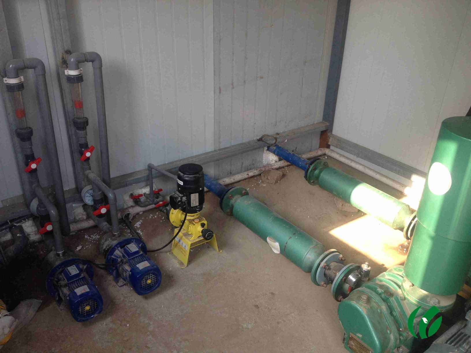 7,污水处理设备配有plc自动控制系统和故障报警装置,运行安全可靠,无