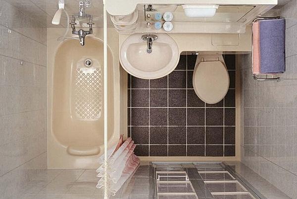 万庭整体简易卫生间图片