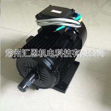 变频器+异步电机 此方案在电机低速时功率急剧