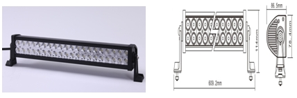 LED bar light