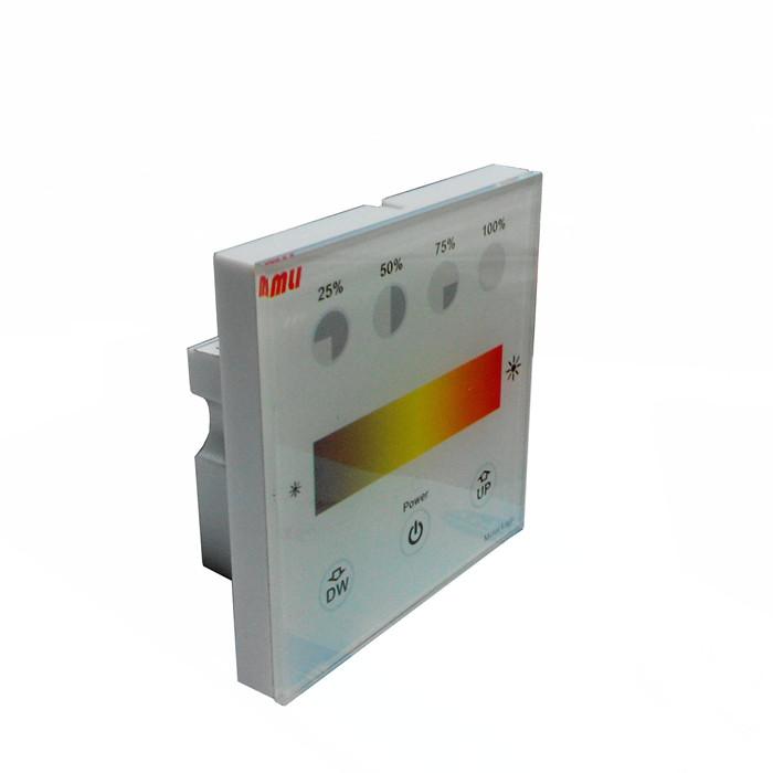 (1)可与0/1-10v调光电源(台湾明纬等),0/1-10v电子整流器配合调光.
